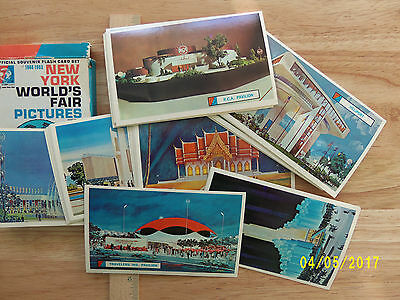 1964-1965 New York World's Fair  Official Souvenir Flash Card Set