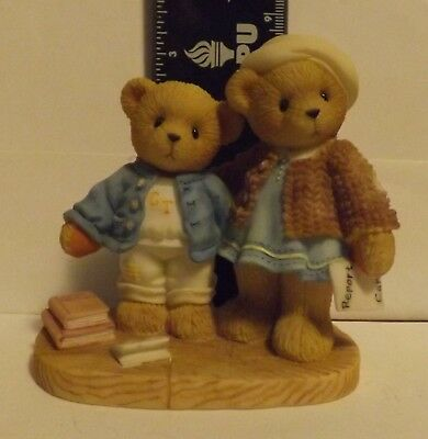 Cherished Teddies Clement and Jodie...Try, Try And Try Again