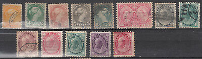 Canada Selection of 1800's