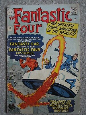 Fantastic Four #3 (Vol One 1962)