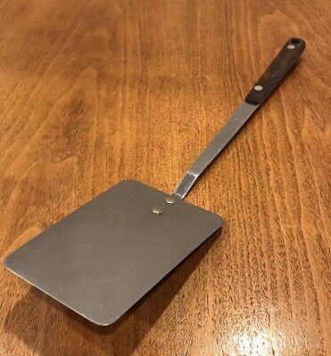 Vintage MAID OF HONOR Stainless Steel SPATULA Full Tang WOOD HANDLE - RARE!
