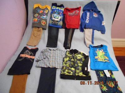14 Pc Mixed Lot Boys Size 5-5T Used Winter Clothing (7 are NWT)