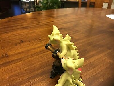 Flambro 1997  Pocket Dragons STARS Dragon With Telescope