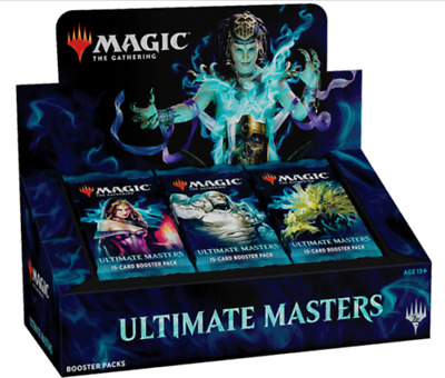 Ultimate Masters MTG Booster Box with Box Topper FACTORY SEALED