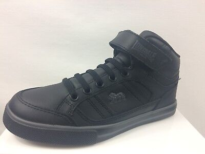 Lonsdale Loop Tape Canons Hi Top Trainers Brand New Size Uk C13 (G3)