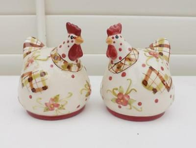 Free Post Chicken Salt And Pepper Shakers  Lovely Design  New