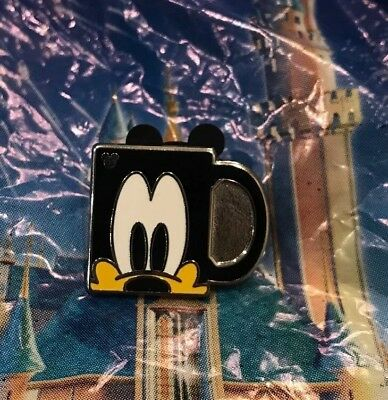Disney 2018 Hidden Mickey Goofy Coffee Mug Pin New Hidden Mickey Pin 1 Of 5