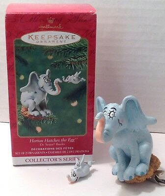 Dr. Seuss Horton Hatches the Egg Hears a Who Hallmark Ornament