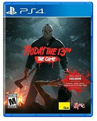 PS4 Friday the 13th: The Game [NEW] Ja From japan