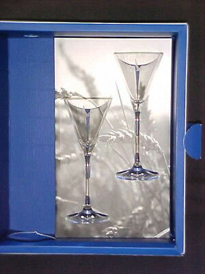 2 Limited Edition Grey Goose Vodka Martini Glasses