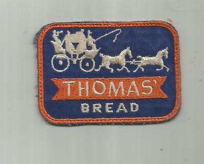 1950's VINTAGE THOMAS BREAD BAKERY DELIVERY TRUCK DIVERS PATCH ENGLISH MUFFINS