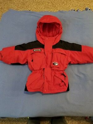 Size 3T Columbia Sportswear Tectonic Jacket Red **Free Shipping