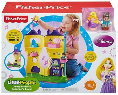 Fisher Price Little People Disney Princess Rapunzel's Tower Castle *music