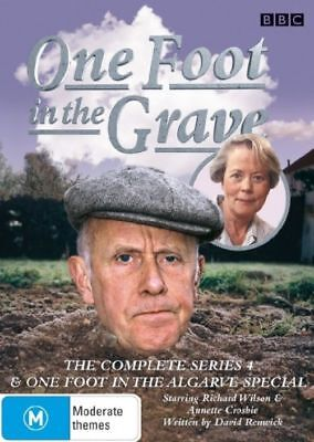 N8 BRAND NEW SEALED One Foot In The Grave : Series 4 (DVD, 2007, 2-Disc Set)