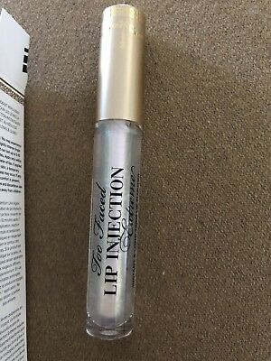 Too Faced Lip Injection Extreme Instant Power Plumping Lip Gloss ~FULL SIZE new