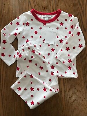 The Little White Company Boys Star Pyjamas Age 12-18months