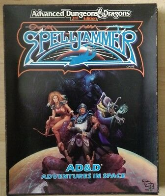 Spelljammer Adventures in Space Box Set AD&D 2e Dungeons & Dragons 2nd Edition