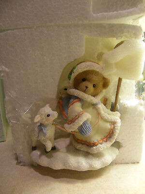 Cherished Teddies ASTRA 4008153 YOUR SPIRIT IS GENTLE AS THE NEW FALLEN SNOW NEW