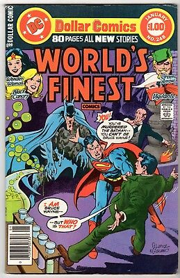 World's Finest #248 with Superman, Batman & Wonder Woman, Fine - Very Fine Cond