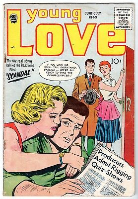 Young Love Vol 4 #1 by Joe Simon & Jack Kirby, Very Good Condition