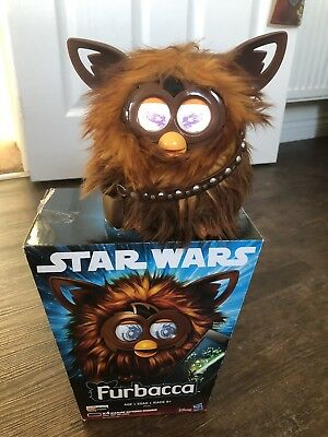 Hasbro Star Wars Chewbacca Furbacca Electronic Talking Furby Toy Pet Boxed