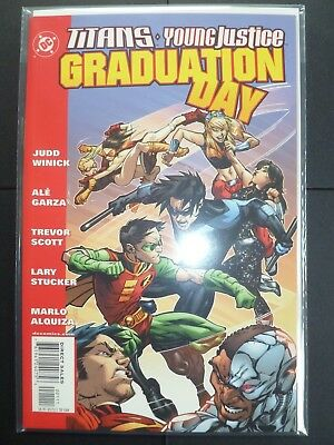 Titans + Young Justice Graduation Day DC