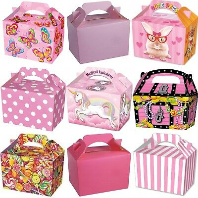 Party Boxes - Children Bag Loot - Food Treat Lunch Gift Box  - Choose Quantity