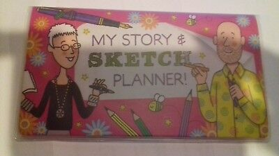 My Story and Sketch planner -  originally came in Jacqueline Wilson magazine
