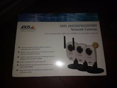 Axis 207 Network Cameras - Box of 2 - Used