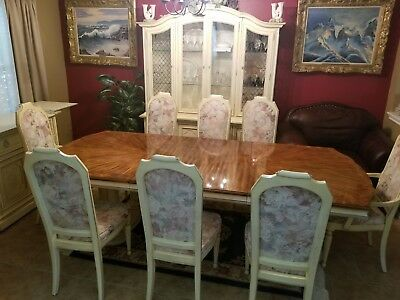 Stanley Furniture Complete 14 piece Dining Room Set Mint Condition