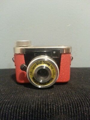 Very Rare Subminiature  Mickey Mouse Camera  with case  : Kunik Walter
