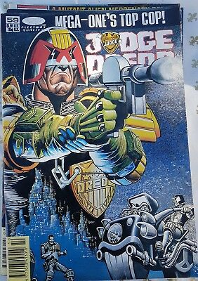 Judge Dredd #59. Fleetway US comics