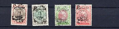 Persia. 1911.  A selection of used  overprint Stage Coach stamps. Used.