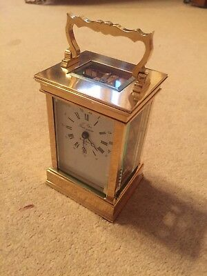 Very High Quality Fully Serviced Brass Cased Carriage Clock