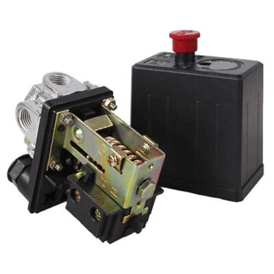 ON/OFF Air Compressor Pressure Switch 16A 240V Control Valve 90 PSI -120 PSI