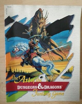 The Art of the Dungeons & Dragons Fantasy Game | TSR 1985