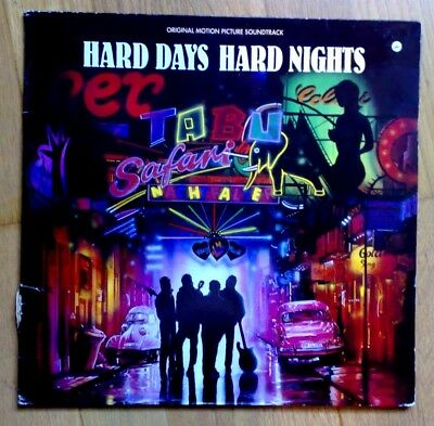 "LP ""HARD DAYS HARD NIGHTS"" Original Motions Picture Soundtrack, 1990,"