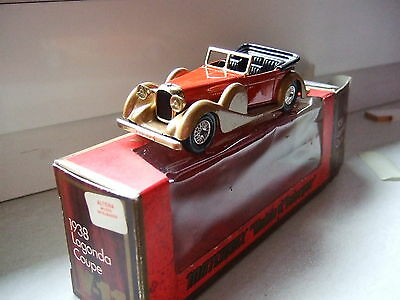 "Matchbox ""Models of Yesteryear"" Y-11 1938 Ladonga Drophead Coupe OVP"