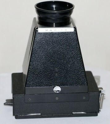 Mamiya Press Viewing Hood and Ground Glass For  Press  23, Super 23 & Standard