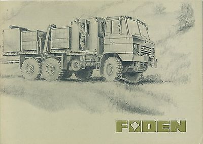 FODEN Military Truck Medium Mobility Range