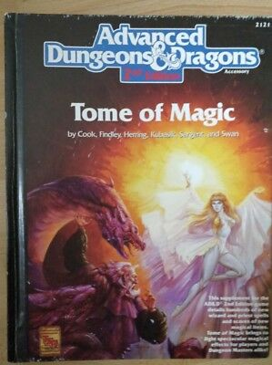 Advanced Dungeons & Dragons 2nd Edition Tome of Magic | TSR 1991