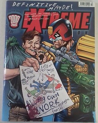 2000 AD extreme edition 02- PJ Maybe
