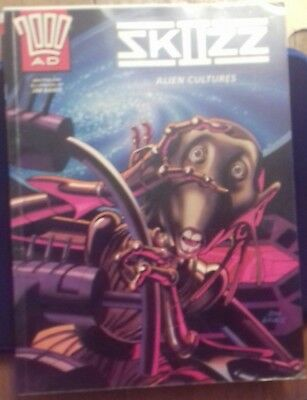 2000 AD Graphic Novel- Skizz II- Alien cultures