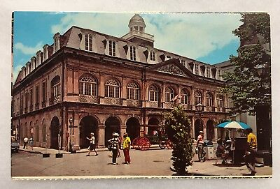 Louisiana LA New Orleans The Cabildo Postcard Old Vintage Standard