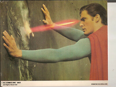 Superman Colour Still From The Film With Christopher Reeve,dc Comics Inc 1983