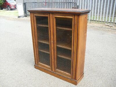Lovely Antique Edwardian Pine Bookcase Display
