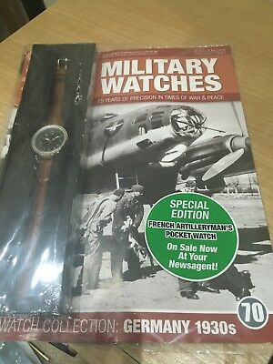 BM unopened Eagle Moss Military Watch magazine & watch Issue 70 -FREE POSTAGE