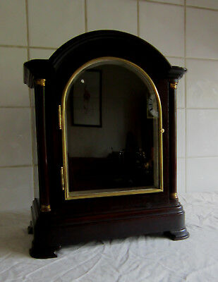 Quality Large Mahogany Clock Case –For Spares