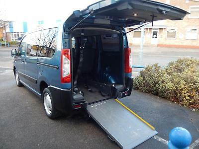 2012(12) Peugeot Expert Tepee 1.6HDi WHEELCHAIR ACCESSIBLE VEHICLE WAV DISABLED