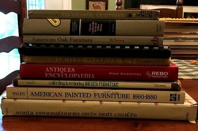 Pennsylvania Painted Furniture Antiques  Americas Past Early American Book Lot